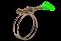 Хомут проволочный c ключом оцинкованный от производителя